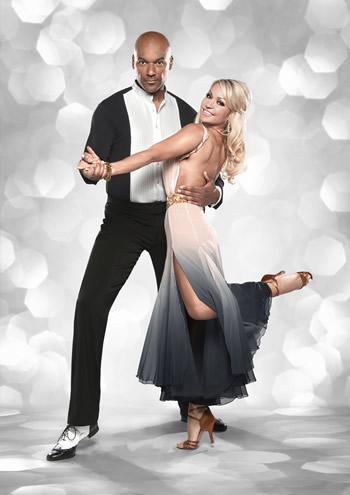 Colin Salmon and Kristina Rihanoff Strictly Come Dancing