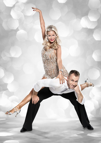 Denise Van Outen and James Jordan Strictly Come Dancing