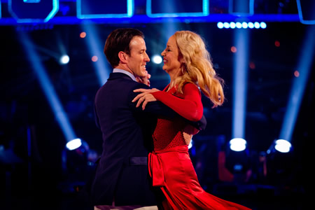 Jerry Hall Anton du Beke exit Strictly Come Dancing 2012 Week 3