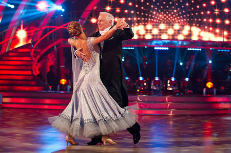 Johnny Ball amd Iveta Lukosiute Strictly Come Dancing Week 2