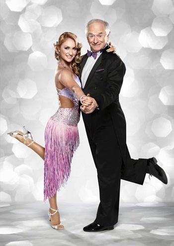 Johnny Ball and Aliona Vilani Strictly Come Dancing