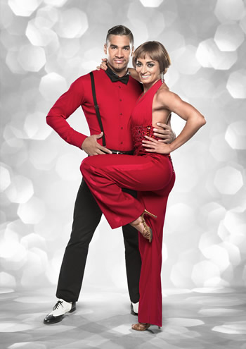 Louis Smith and Flavia Cacace Strictly Come Dancing