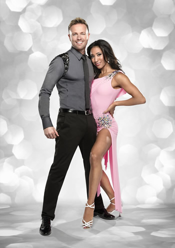 Nicky Byrne and Karen Hauer Strictly Come Dancing