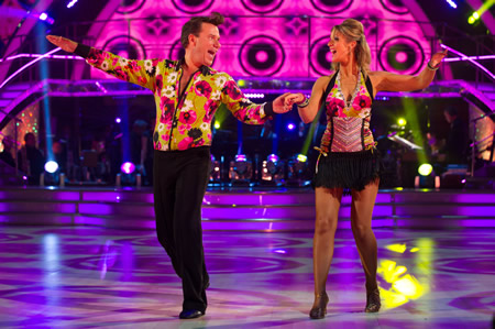 Richard Arnold Erin Boag Strictly Come Dancing Week 2