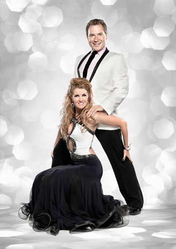 Richard Arnold and  Erin Boag Strictly Come Dancing