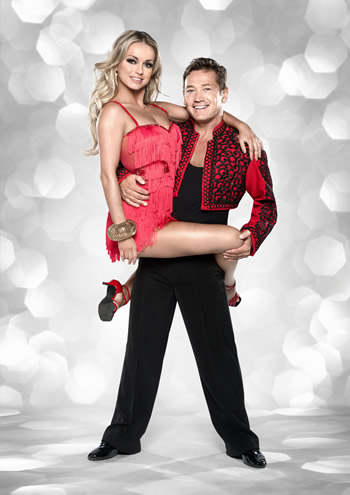 Sid Owen and Ola Jordan Strictly Come Dancing