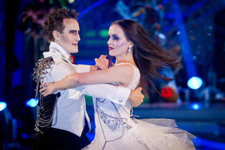 Strictly Come Dancing Victoria Pendleton and Bredan Cole