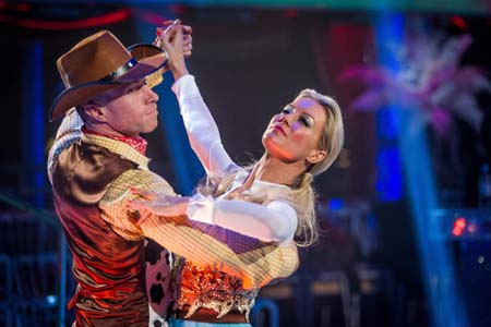 Strictly Come Dancing 2012 Week 3 Denise Van Outen James Jordan