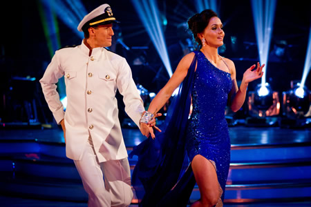 Victoria Pendleton Brendan Cole Strictly Come Dancing Fashion Police Week 3