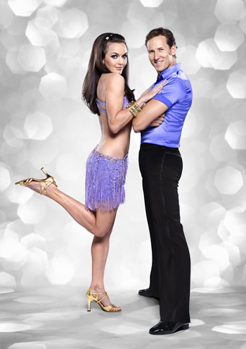 Victoria Pendleton and  Brendan Cole Strictly Come Dancing