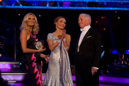 goodbye to johnny ball on strictly come dancing week 2