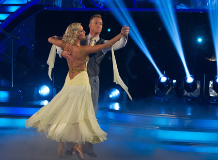 strictly come dancing fashion police denise van outen
