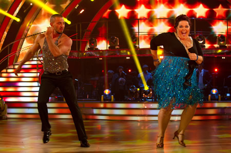 strictly come dancing fashion police lisa riley