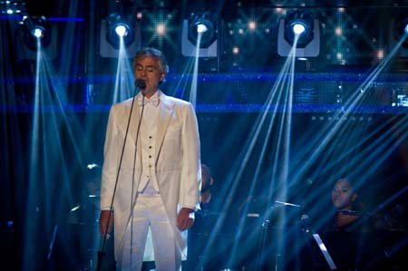 BBC Strictly Come Dancing Andrea Bocelli Week 5