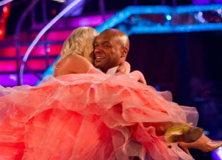 BBC Strictly Come Dancing 2012 Colin Salmon Exits Week 5