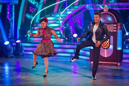 BBC Strictly Come Dancing Dani Harmer Week 5 Jive