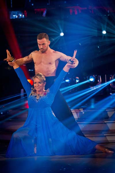 BBC Strictly Come Dancing Fern Britton Week 5
