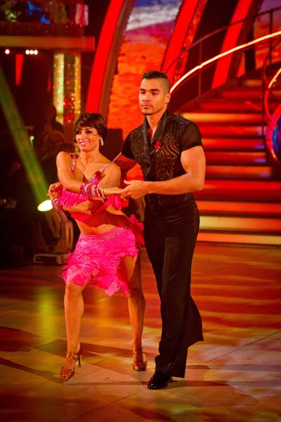 BBC Strictly Come Dancing Louis Smith Week 5 Samba