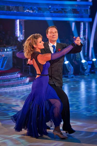 BBC Strictly Come Dancing Richard Arnold Week 5