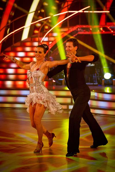 BBC Strictly Come Dancing Victoria Pendleton Week 5