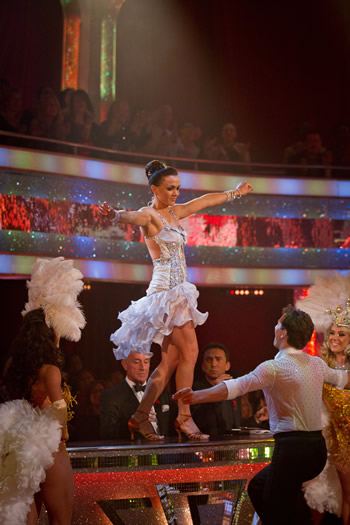 BBC Strictly Come Dancing Week 5 Victoria Pendleton