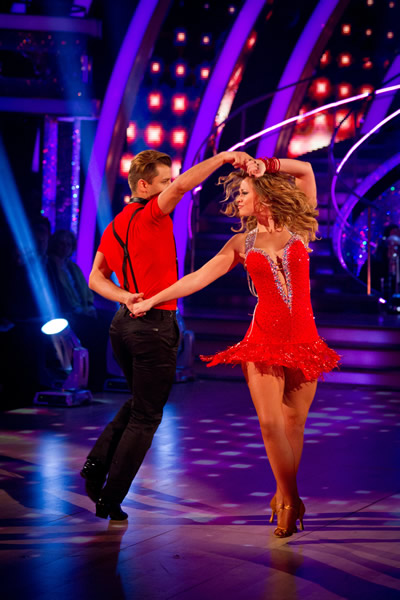 Strictly Come Dancing Kimberley Walsh