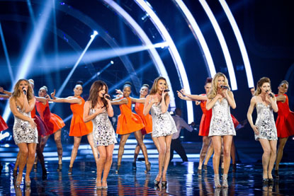 Strictly Come Dancing 2012 Girls Aloud
