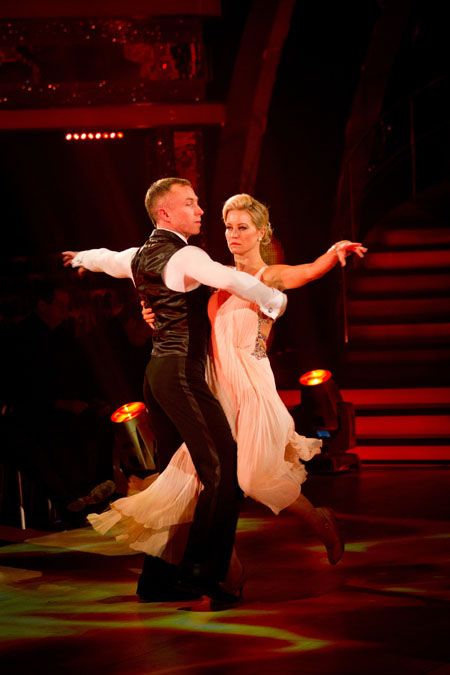 James Jordan Denise Van Outen Week 8 Strictly Come Dancing 2012