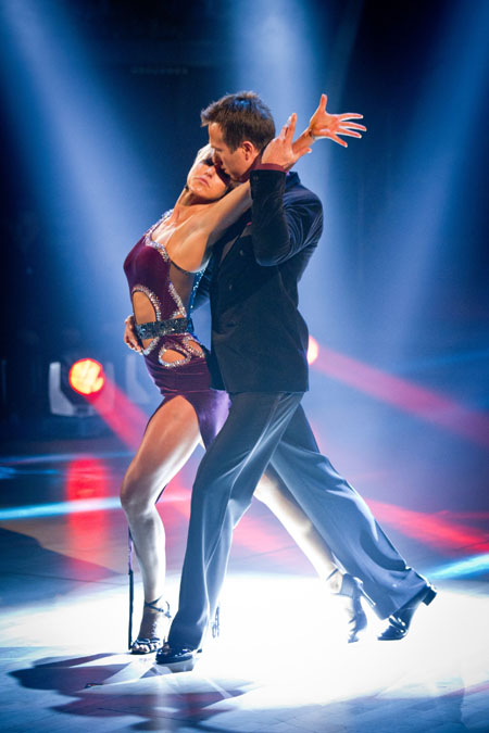 Natalie Lowe Michael Vaughan Week 8 Strictly Come Dancing 2012