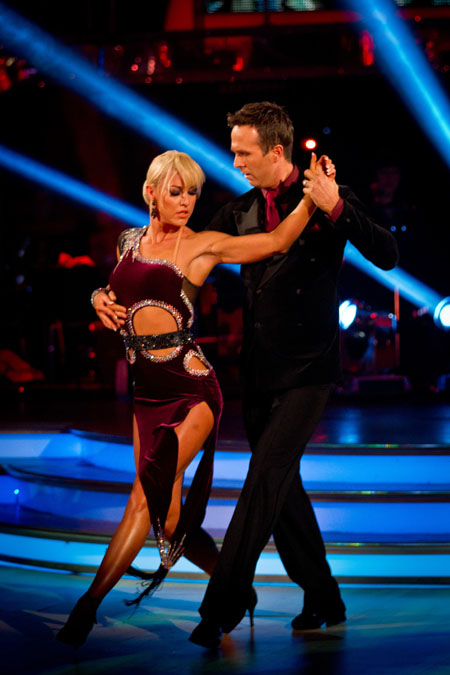 Natalie Lowe Michael Vaughan Strictly Come Dancing 2012