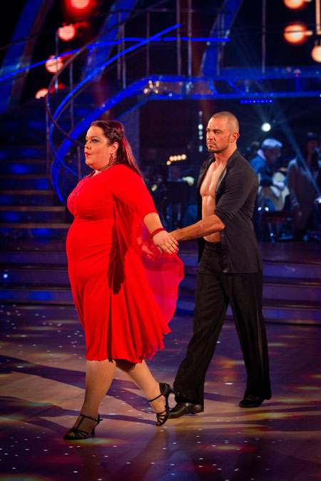 Lisa Riley Robin Windsor Week 8 Strictly Come Dancing 2012