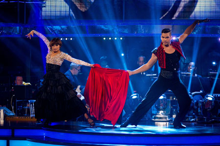 Flavia Cacace Louis Smith Strictly Come Dancing 2012