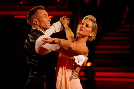 James Jordan Denise Van Outen Strictly Come Dancing 2012