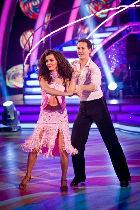 Victoria Pendleton Brendan Cole Week 8 Strictly Come Dancing 2012