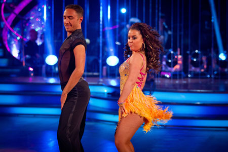 Strictly Come Dancing 2012 Vincent Simone Dani Harmer Week 8
