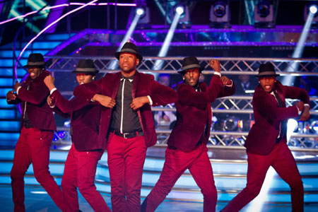 Flawless perform on Strictly Come Dancing