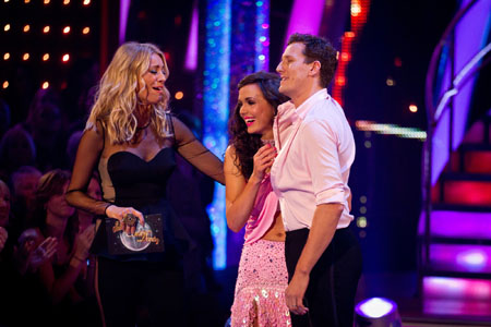 Strictly Come Dancing Results Victoria Pendleton and Brendan Cole Leave Week 8