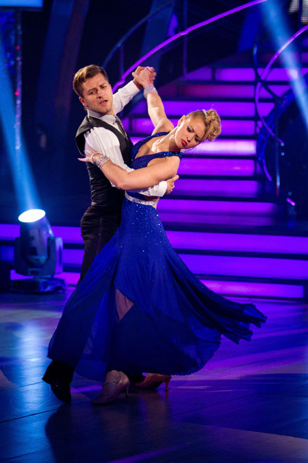 Strictly Come Dancing 2012 Pasha Kovalev Kimberley Walsh Week 8