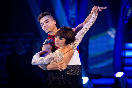 Strictly Come Dancing 2012 Louis Smith Flavia Cacace Week 8