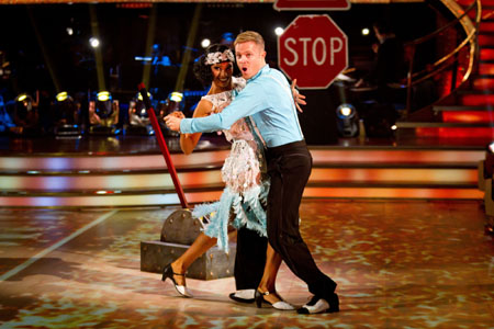 Strictly Come Dancing 2012 Karen Hauer Nicky Byrne Week 8
