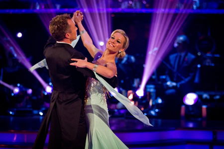 BBC Strictly Come Dancing 2012 Week 5 Denise Van Outen James Jordan