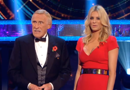 Strictly Come Dancing Week 5 Tess Daly Bruce Forsyth