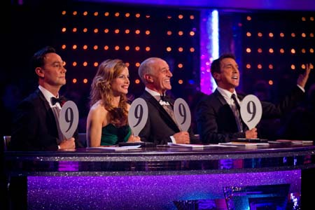Strictly Come Dancing Week 6 Craig Revel Horwood Brings Out His 9
