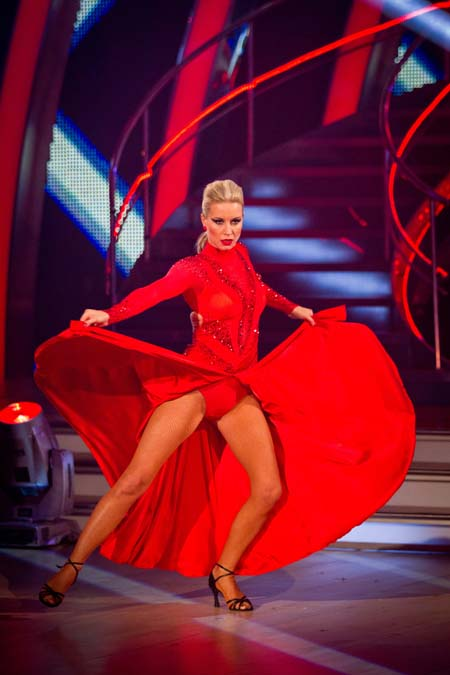 Strictly Come Dancing Week 6 Denise Van Outen Paso Doble
