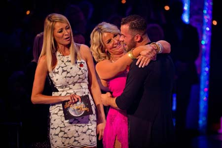 Strictly Come Dancing Week 6 Fern Britton Says Goodbye To Artem