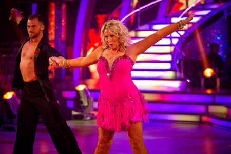 Strictly Come Dancing Week 6 Fern Britton