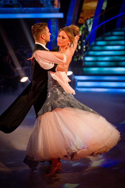 Strictly Come Dancing Week 6 Kimberley Walsh and Pasha Kovalev