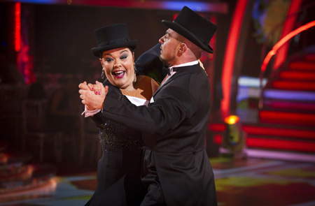 Strictly Come Dancing Week 6 Lisa Riley and Robin WIndsor
