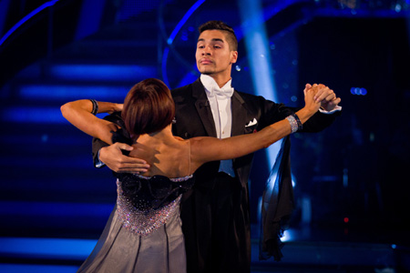 Strictly Come Dancing Week 6 Louis Smith and Flavia Cacace