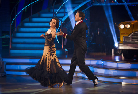 Strictly Come Dancing Week 6 Victoria Pendleton and Brendan Cole